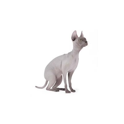 灰色猫3D模型【ID:715274838】