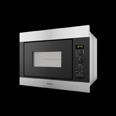 银色微波炉3D模型【ID:715281619】