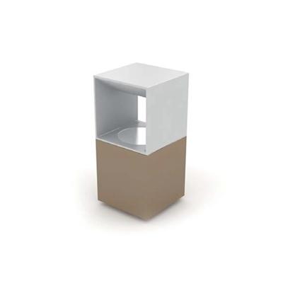 现代木艺地灯3D模型【ID:715291195】