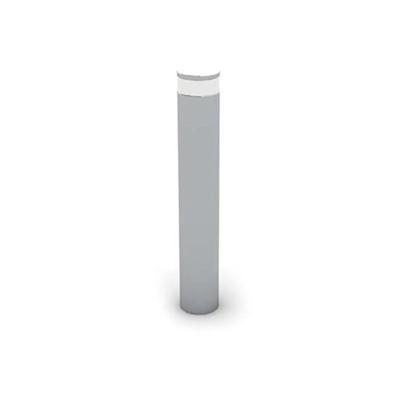 现代灰色金属地灯3D模型【ID:715292126】