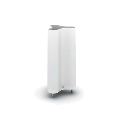 现代白色玻璃地灯3D模型【ID:715292178】