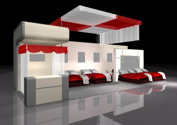 家具展厅13D模型【ID:716921363】