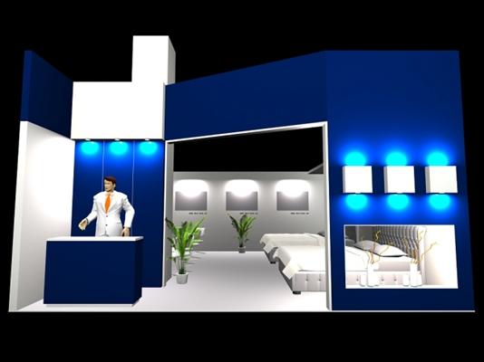 家具展厅33D模型【ID:716921386】