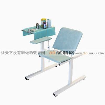 医疗椅13D模型【ID:716971892】
