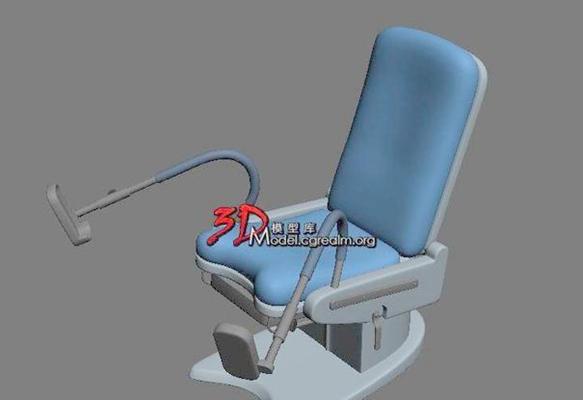 医疗椅13D模型【ID:716990892】