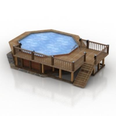 泳池13D模型【ID:717139460】