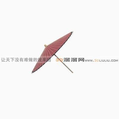遮阳伞43D模型【ID:717238662】