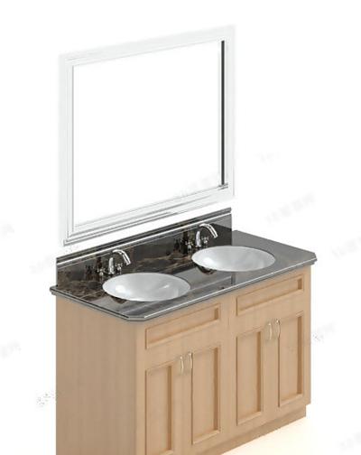洗手台73D模型【ID:717256784】