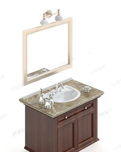 洗手台83D模型【ID:717256787】