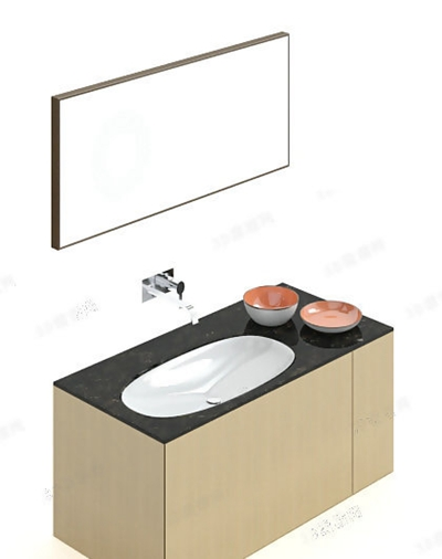 洗手台93D模型【ID:717256788】