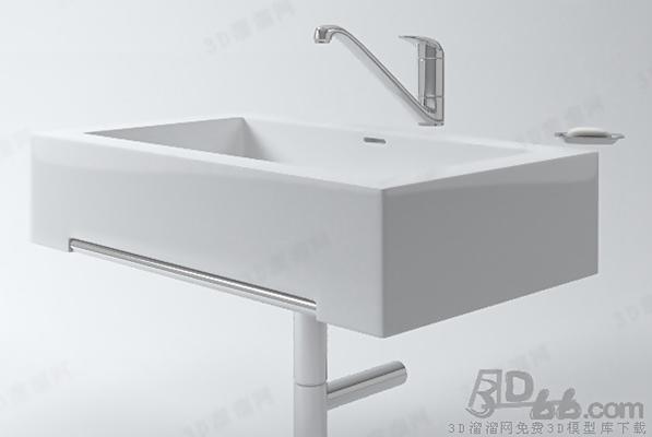 洗手台143D模型【ID:717256797】
