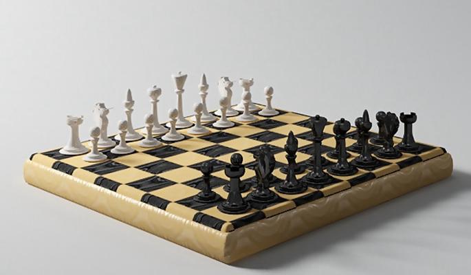 国际象棋13D模型【ID:717284416】