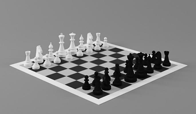 国际象棋23D模型【ID:717284452】