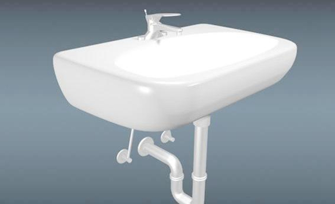 洗手台163D模型【ID:717378757】