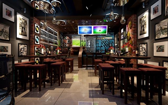 现代主题餐厅3D模型【ID:717508919】