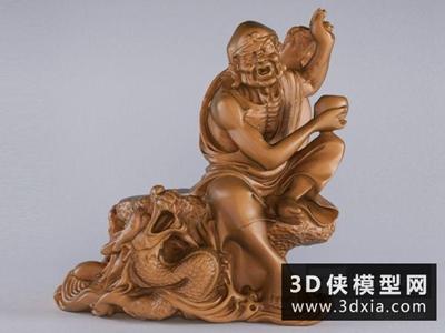 降龙罗汉国外3D模型【ID:929550735】