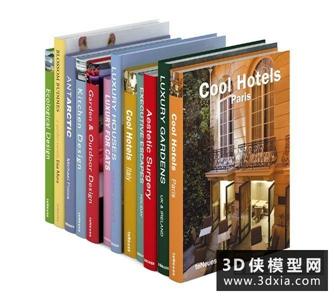 书国外3D模型【ID:929832018】
