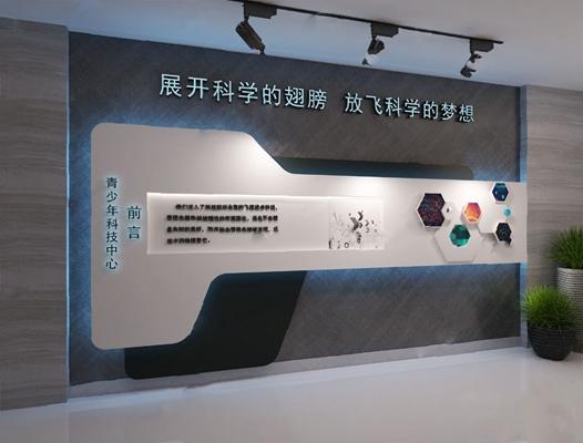 背景墙3D模型【ID:320016547】