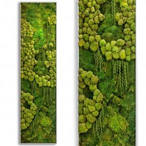 现代苔藓墙植物墙3D模型【ID:127769179】