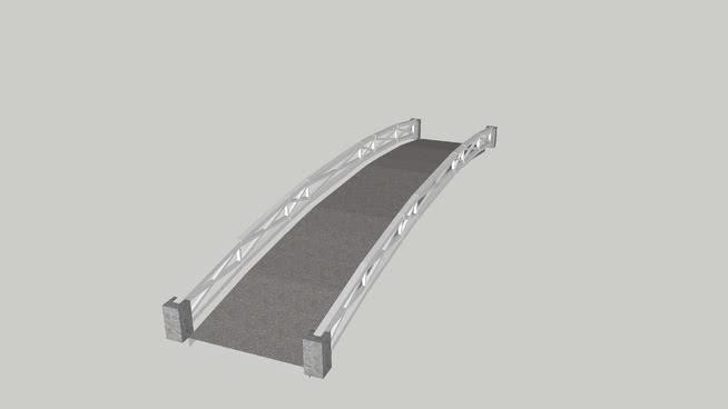 小桥车SU模型【ID:438182992】