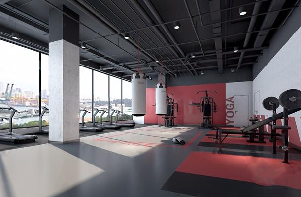 健身房3D模型【ID:920020081】