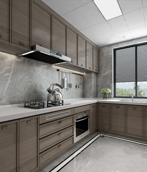 現代廚房3D模型【ID:541630331】
