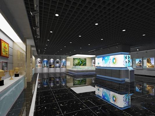展厅3D模型【ID:820022471】