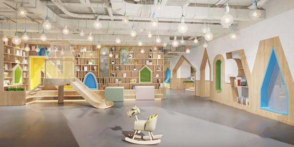 幼儿园大厅3D模型【ID:941630600】