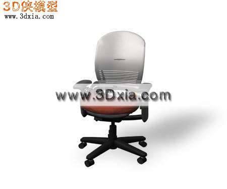 3D最新办公椅模型下载3D模型【ID:7435】