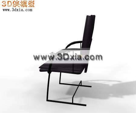 不错的3D办公椅模型3D模型【ID:7444】