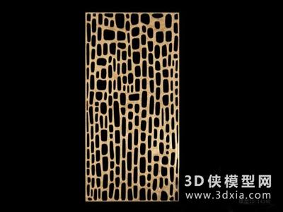 現代隔斷國外3D模型【ID:929743560】
