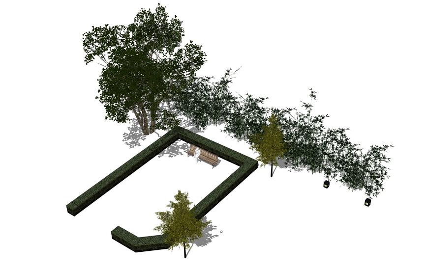 3D植物树SU模型【ID:136409658】