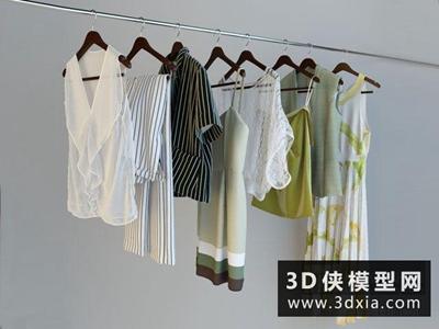 衣服國外3D模型【ID:929527644】