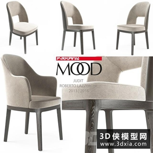 现代餐椅国外3D模型【ID:729306884】