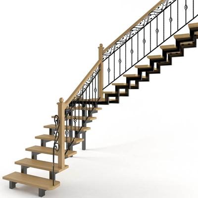 楼梯构件楼梯3D模型【ID:76898895】