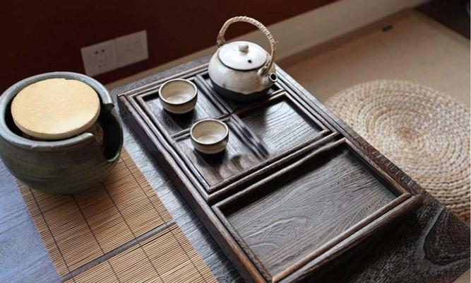 日式茶具组合瓷器3D模型【ID:76908930】