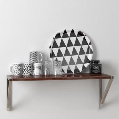 马克杯透明玻璃杯模型3D模型【ID:76930839】