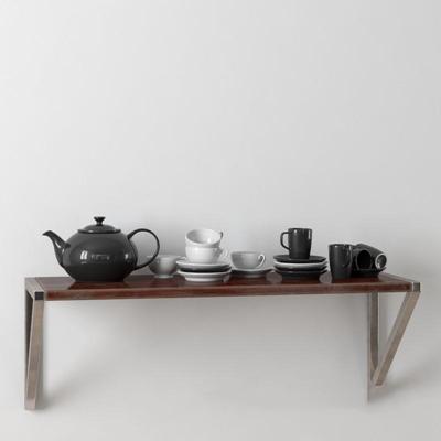 白色灰黑色纯色茶具模型3D模型【ID:76932236】