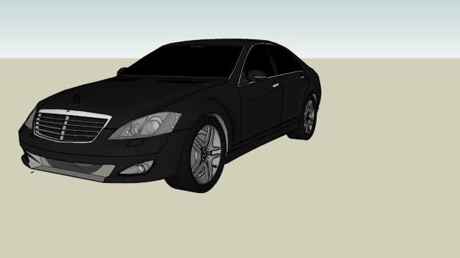 梅赛德斯-奔驰s600SU模型【ID:438213997】