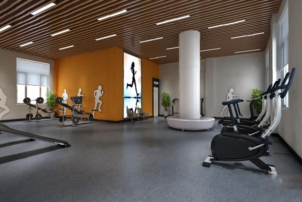 健身房3D模型【ID:620025090】