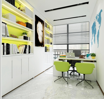 现代经理办公室3D模型【ID:77012662】