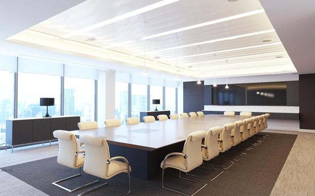 现代会议室3D模型【ID:77042888】