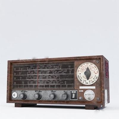 收音机3D模型【ID:77096899】