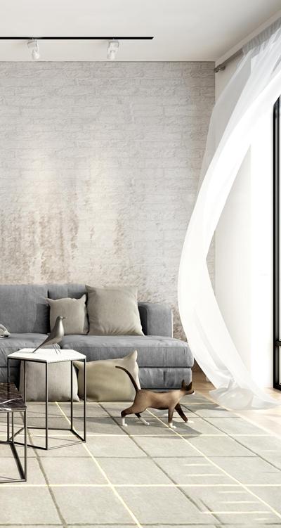 现代多人沙发3D模型【ID:719742712】