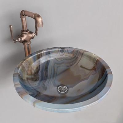 现代大理石洗手台3D模型【ID:77191173】