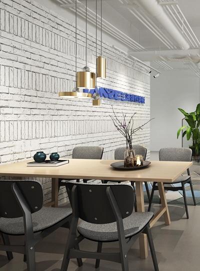 现代办公室接待区3D模型【ID:77198660】