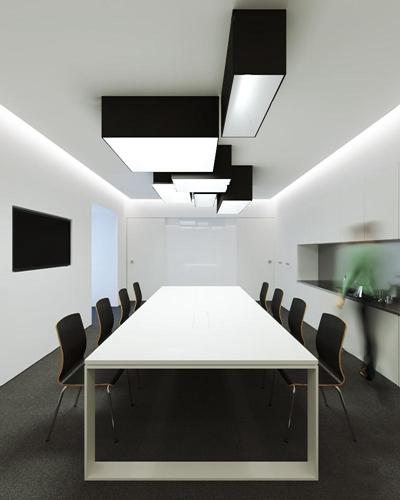 现代办公会议室3d模型【ID:77216960】