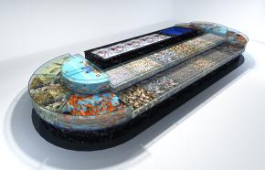 現代超市海鮮池3D模型【ID:927821281】