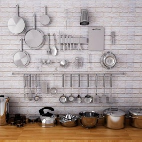 厨房用品厨具3D模型【ID:828135350】