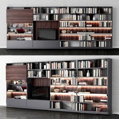 现代电视柜3D模型【ID:920612025】